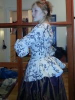 Mid 17th to mid 18th century jacket by LadyCafElfenlake