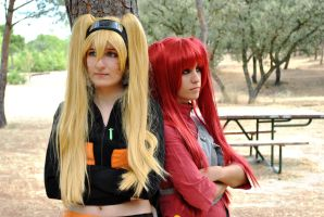 Naruko and Gaara SNJ - Friends forever by ALIS-KAI