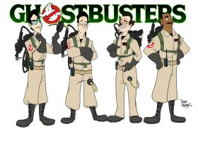 Ghostbusters by DaveAlvarez