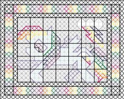 Rainbow Dash Quilt Pattern by jysalia