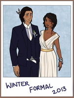 Winter Formal by Kiaraz