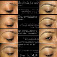 Eyebrow Tutorial by SirenArtistry