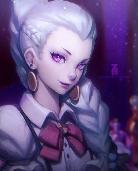 Death Parade Nona Portrait 01 by Zeronis