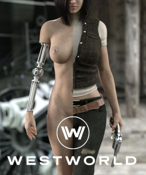 Gina in Westworld by FranPHolland