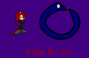 Irving the cat (new look) by NiccoRae77