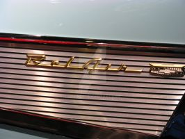 1957 Chevy Bel Air Convertible by Qphacs