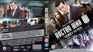 DOCTOR WHO SERIES 7 BLU-RAY COVER NEW **UPDATED** by MrPacinoHead