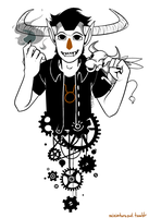 Tavros and Gears by Miniatureowl