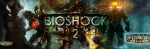 Bioshock 2 dual wallpaper by Toxigyn