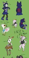 Animal Crossing Things by StapledSlut