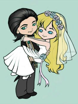 Mr and Mrs Laufeyson by ucchan