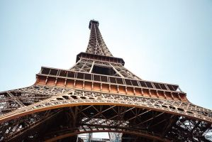 Structure of the Eiffel Tower by sican