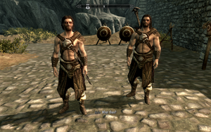 Farkas 'n Vilkas in Hide Armour by Mediziner