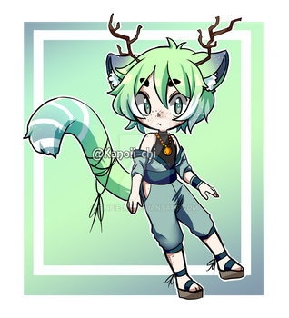 Forest Adopt [CLOSED] by kanoii-chi