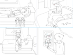 Jason Terrell Comic page (WIP) by LevelInfinitum
