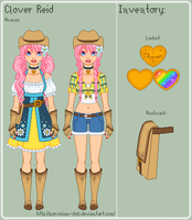 HM - Clover Reference Sheet by porcelian-doll