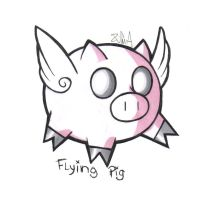 Flying Pig by Suimitsu