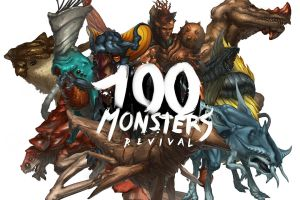 100 Monsters Collage 2 by ATArts