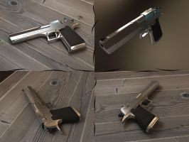 Desert Eagle V-ray Testing by feenux13
