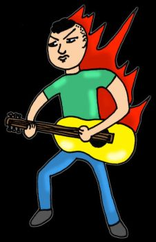Fiery Strumming by Whatsome