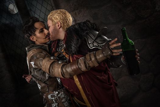 Cullen/Dorian Cosplay - You don't need this by zahnpasta