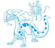 A Random Dragon Appeared by secoh2000
