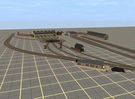01/08/15 - Tidmouth Sheds by TheAusterityEngine