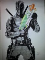 Deadpool by Emmris-Dessin