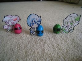Shugo Chara Eggs by afna123