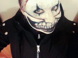 Twisty inspired costume makeup. by valvaleicia
