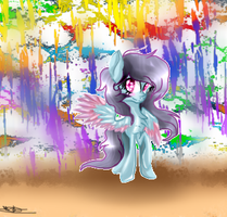Mlp Youtubers (DJ spill dashie) by evexpaw10cute