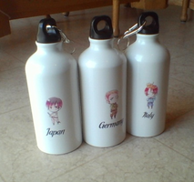Axis water bottles by oEnvy