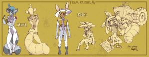Tail Chasers - Team Capsicum by chensterrain