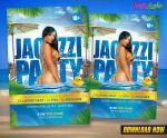 Jacuzzi Party Flyer by KoolGfx