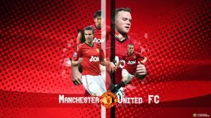 Manchester United by WalidGFX