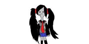 Me cosplaying as Miku by AT-Marceline