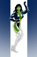 Titania Angels : She Hulk by singory