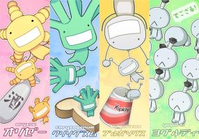 Moyashimon Microbe Bookmarks by Shattered-Earth