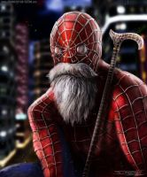 Old spider man by AtomiccircuS