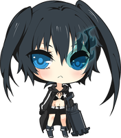 Black Rock Shooter by Cubic-Factory