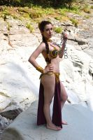 Slave Princess Leia - Star Wars VI by Nerdbutpro