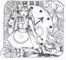 Alice in wonderland by SabriMari