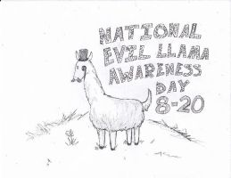 National Evil Llama Awareness by ManBearPig08
