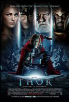 Thor 3D anaglyph by xmancyclops