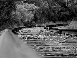 Rail Road Tracks by electricjonny