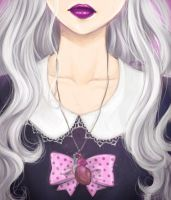 Pastel Goth Girl by MoonLilith