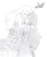 Happiness-Mirajane x Erza by EdoRoku