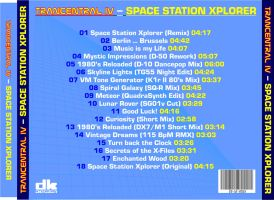 CD Back Cover from Trancentral IV by CmdrKerner