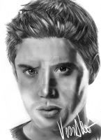 Supernatural - Dean by verkoka