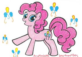 Pinkie Pie by AnneMarie1986